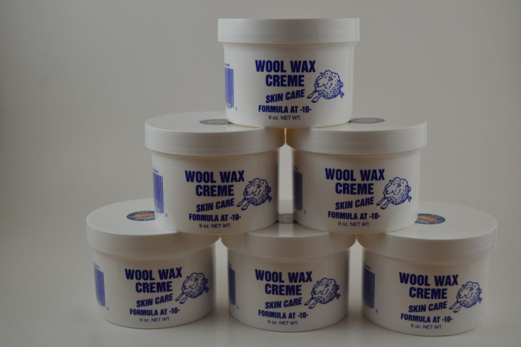 Buy 6 Jars of 9 ounce Wool Wax Creme