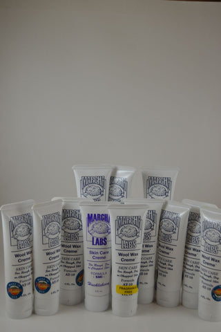 12 squeeze tubes (each 4 ounces) Wool Wax Creme