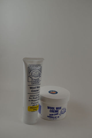 1 nine ounce jar and 1 squeeze tube Wool Wax Creme