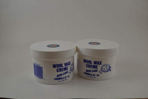 2 Jars of 9 Ounce Wool Wax Creme