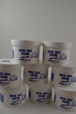 Eight 9 ounce jars of Wool Wax Creme