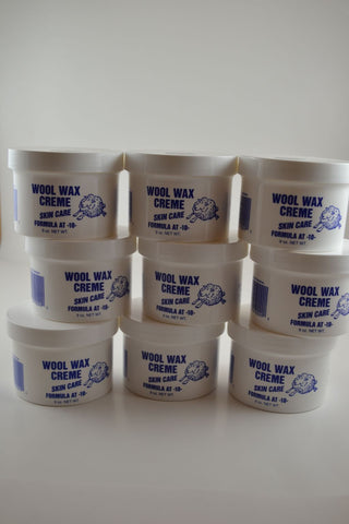 Nine 9 Ounce Jars of Wool Wax Creme