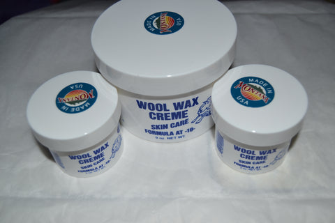 1 nine ounce jar and 2 two ounce jars Wool Wax Creme