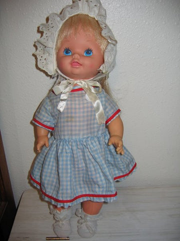 Baby Grows Up 1978 Mattel Doll