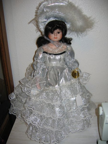 Chili Creations Doll in Silver Gown