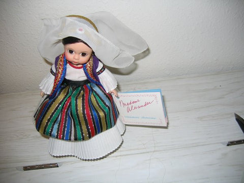 Albania Doll by Madame Alexander