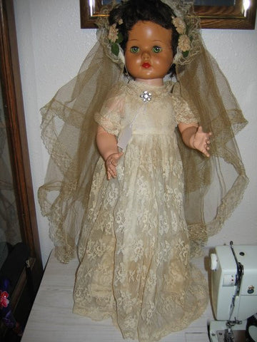 Rare Ideal Bride Walker Doll