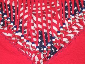 Red Patriotic T-Shirt Size  Xtra Large