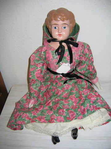 Composition Head Doll 17 1/2 inch