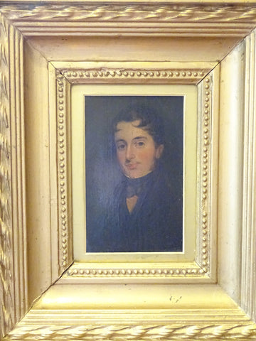 19th Century Portrait of Young Man