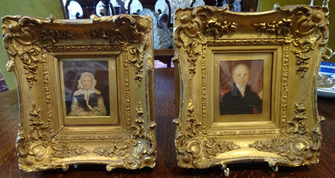 19th Century Miniature Portraits of Fowler's