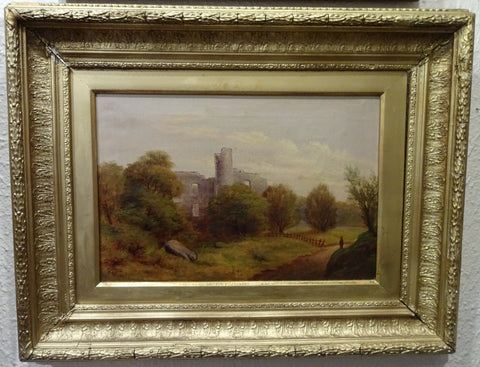 19th Century Painting of Castle