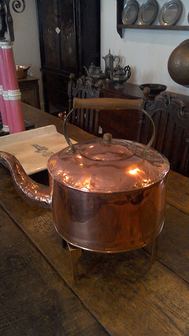 Dovetailed Copper Kettle