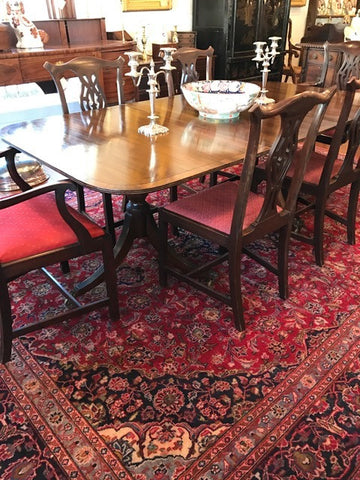 English Country Chippendale Dining Chairs