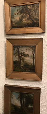 19th Century Landscape Oil Paintings