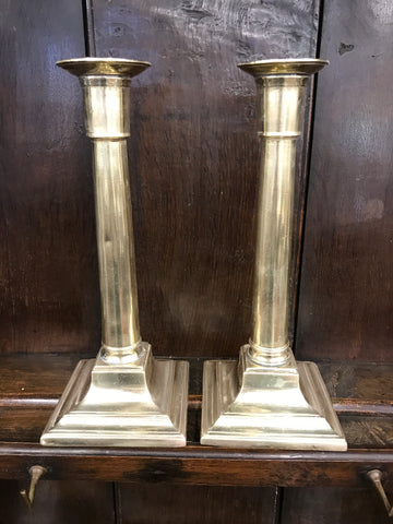 Pair of Early 1800's Georgian Candlesticks