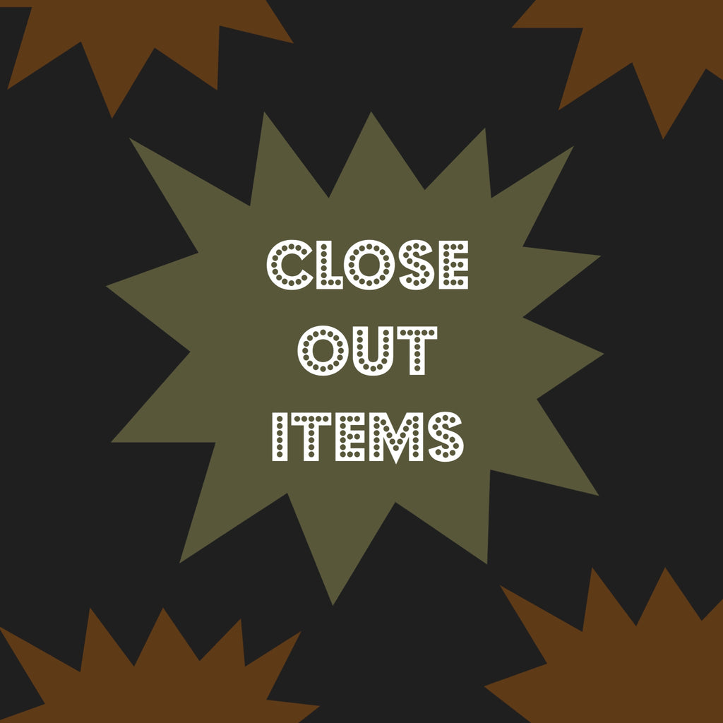 Close out Items