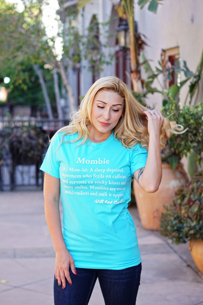 Mombie® Defined Crew Tee (Limited Spring Colors)