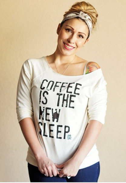 Coffee is the New Sleep™ Lightweight Pullover - Still Rad Clothing