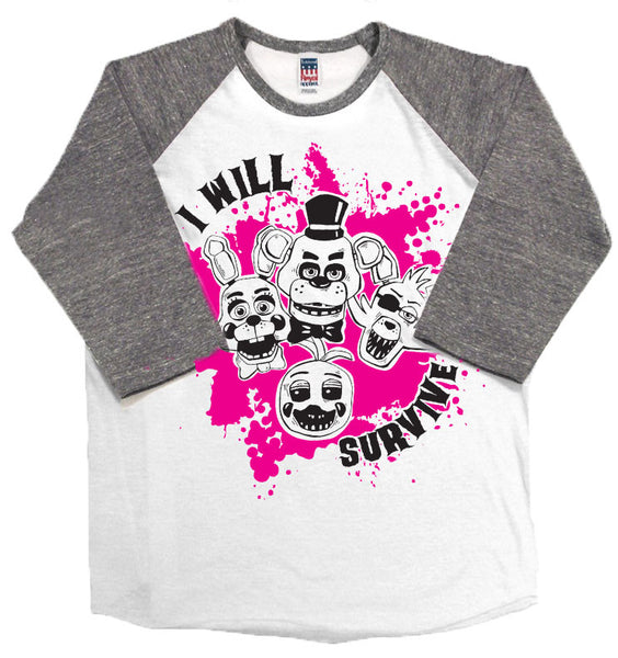 I Will Survive Kids Shirt - Still Rad Clothing  - 2