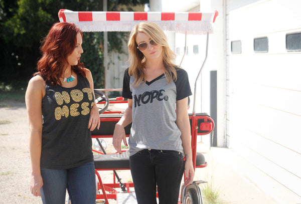 Nope Shirt (Ladies) - Still Rad Clothing  - 2