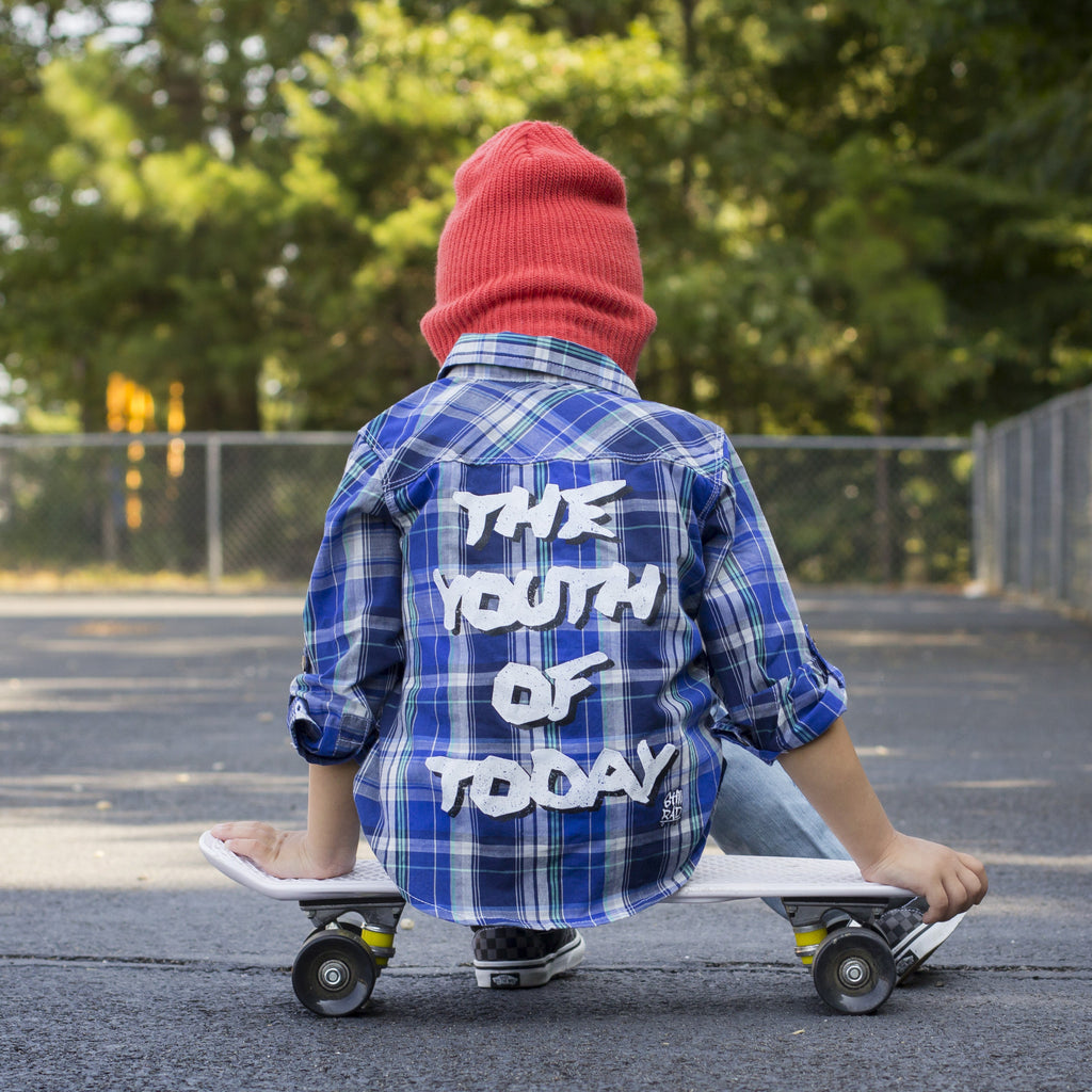 The Youth of Today Plaid Shirt (Limited Edition) - Still Rad Clothing  - 1