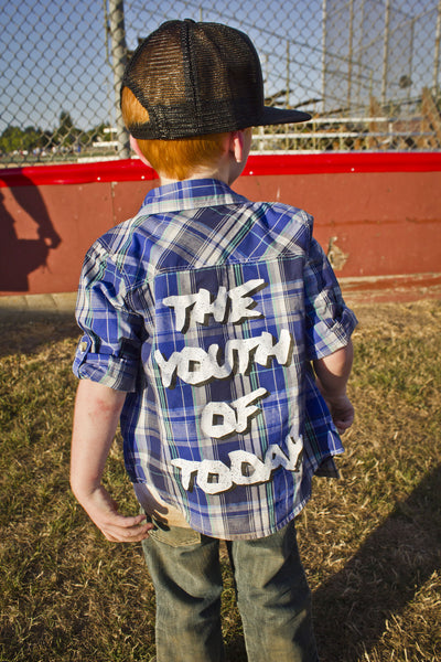 The Youth of Today Plaid Shirt (Limited Edition) - Still Rad Clothing  - 2