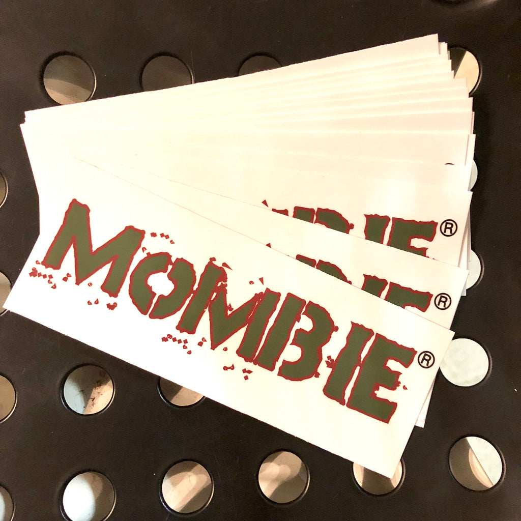 Mombie Bumper Sticker