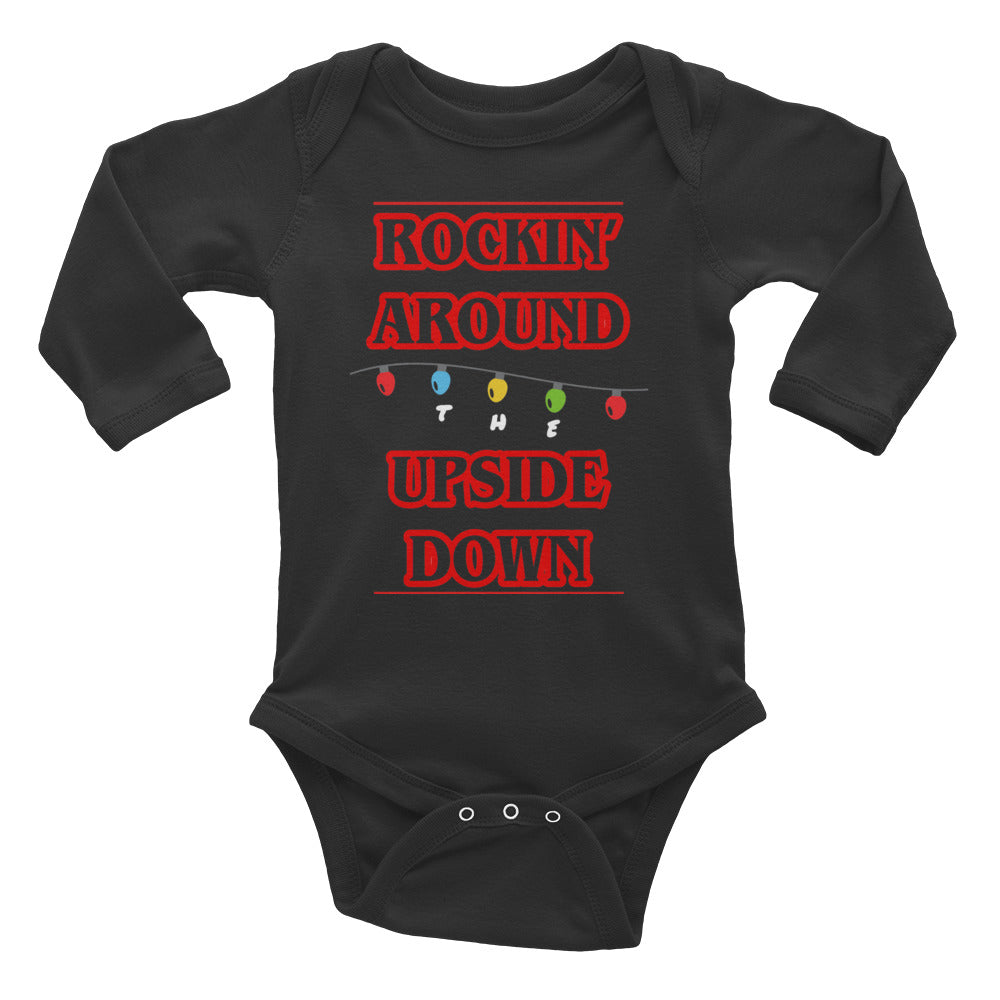 Rockin' Around the Upside Down Infant Long Sleeve Bodysuit