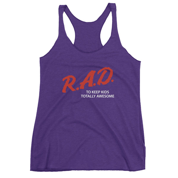 Dare to be Rad Women's Racerback Tank {Various Colors}