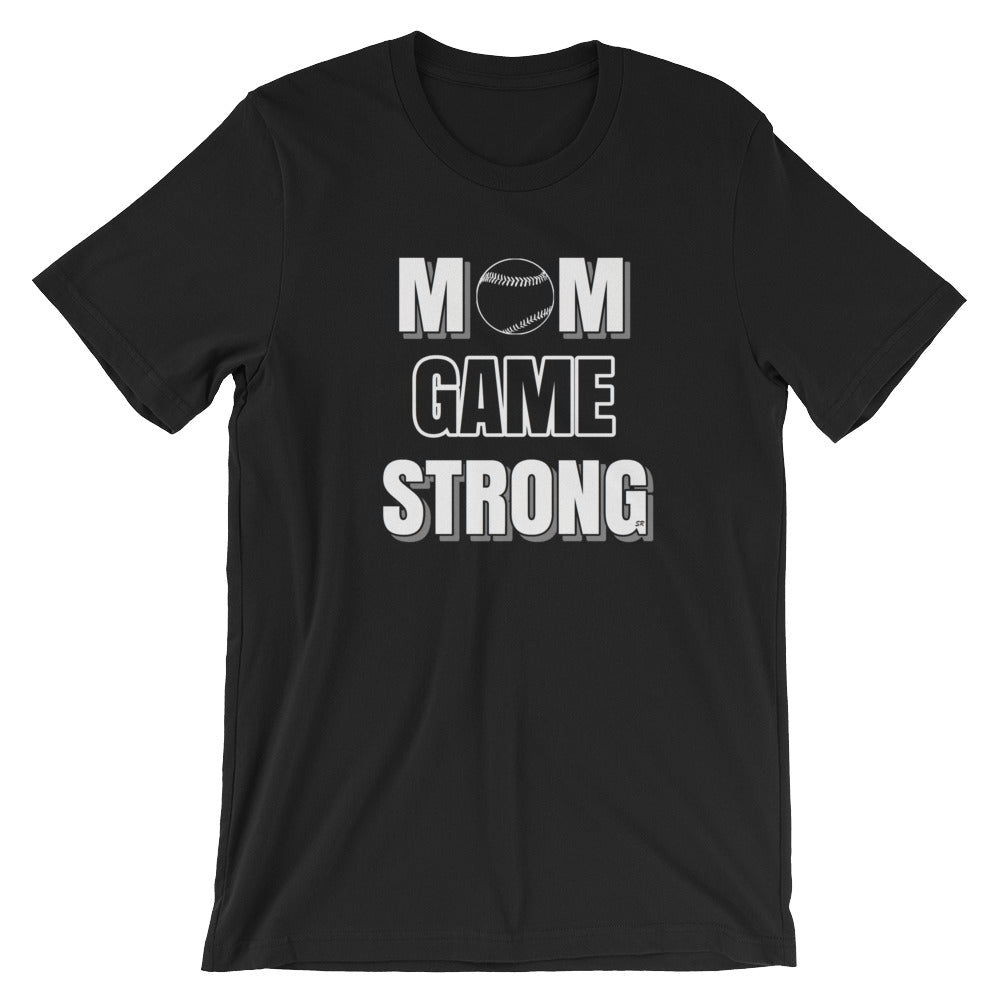 Mom Game Strong Unisex Shirt (Black)