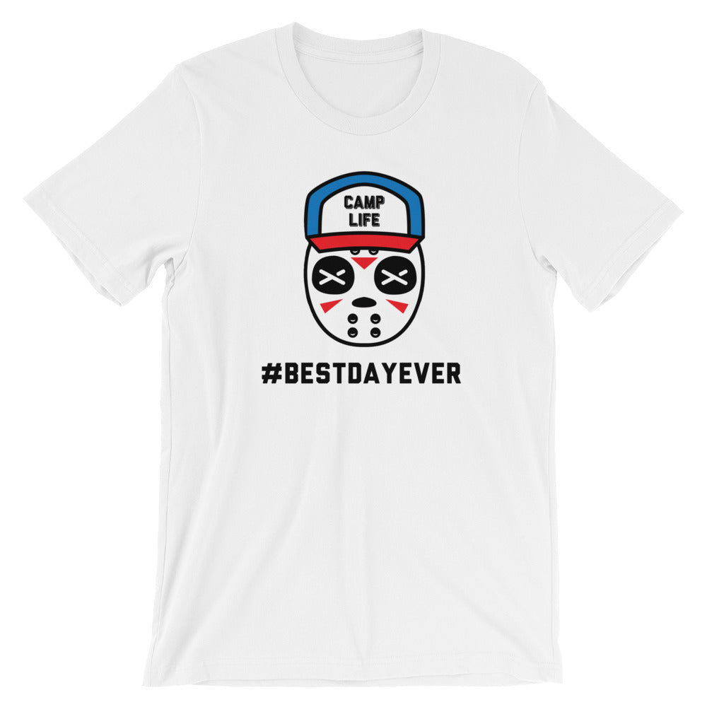 Friday the 13th Best Day Ever Unisex Shirt {White}