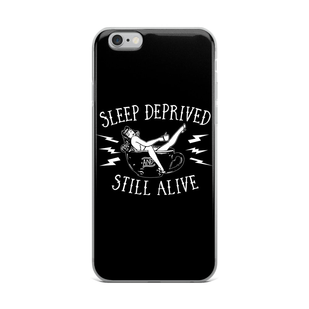 Sleep Deprived iPhone Case