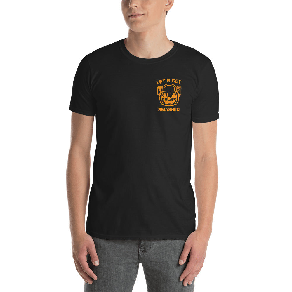 Let's Get Smashed Unisex Shirt (black)