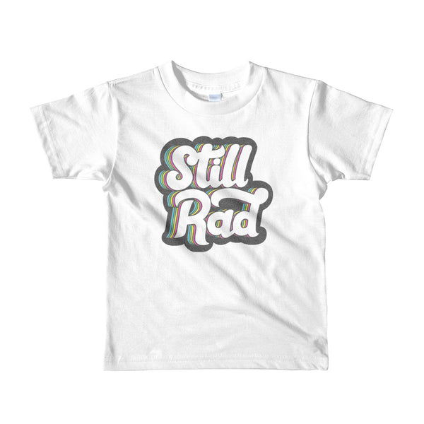 Still Rad Logo Kids Shirt