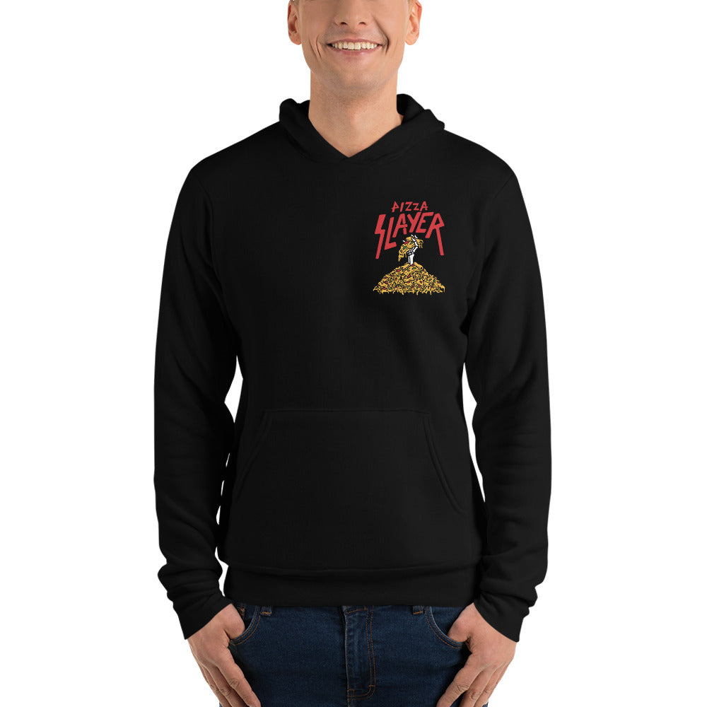 Pizza Slayer Unisex Hooded Sweatshirt