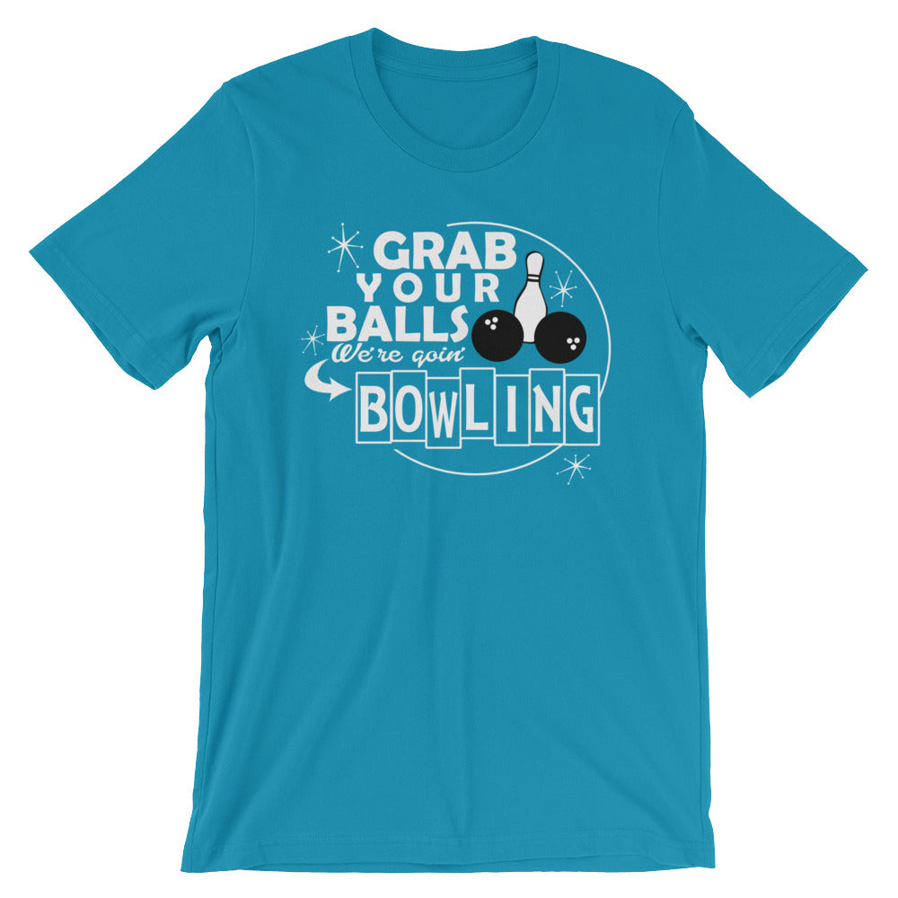 Grab Your Balls Bowling Shirt (unisex)