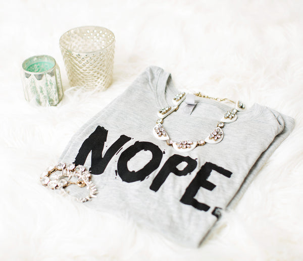 Nope Tee - Still Rad Clothing