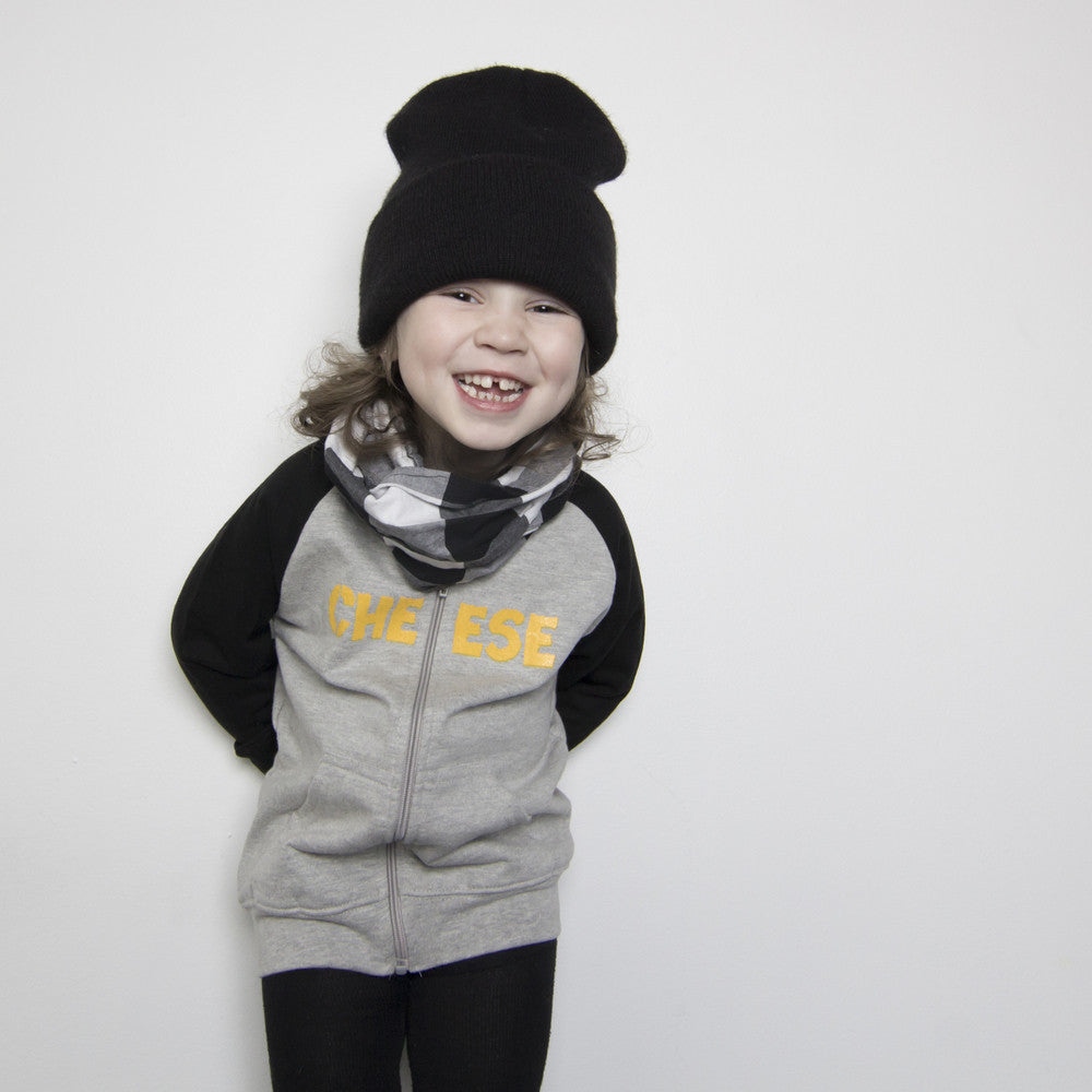 Say Cheese! Skateboard Zip-up Hoodie