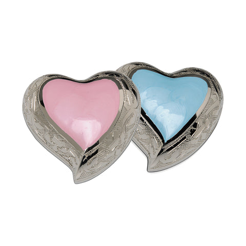 Infant Baby Pink or Blue Heart- IUIN103-P or IUIN103-B