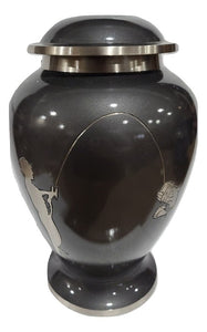 Scratch & Dent Silver Fishing Adult Urn