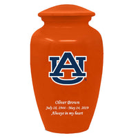 Auburn Tigers Adult Memorial Cremation Urn Orange - IUAUB101