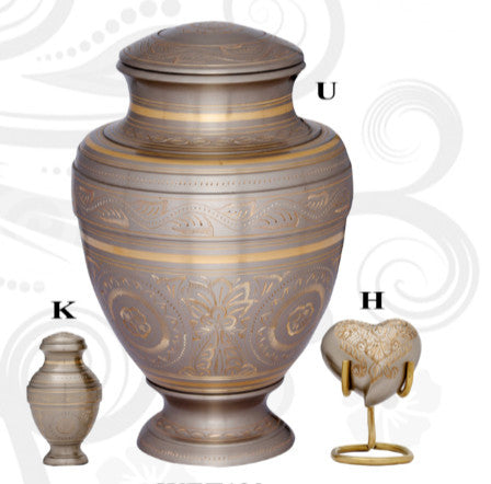 Empire Platinum Cremation Urn- IUET120