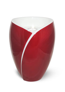 Tealight Adult Fiberglass Urn, Red - IUFC102