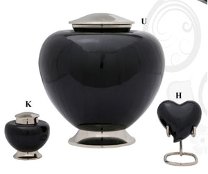 Baroque Shadow Cremation Urn - IUFH106