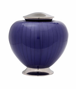 Baroque Purple Cremation Urn - IUFH110