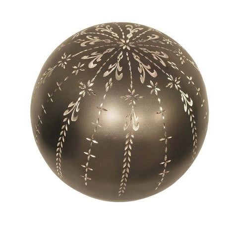 Fancy Florish Sphere of Life Cremation Urn - IUFH113