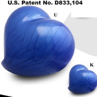 Infinity Eternal Heart Cremation Urn - Blue - IUFH133