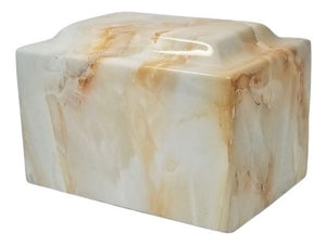 Cafe Faux Marble Urn- IUFXM110