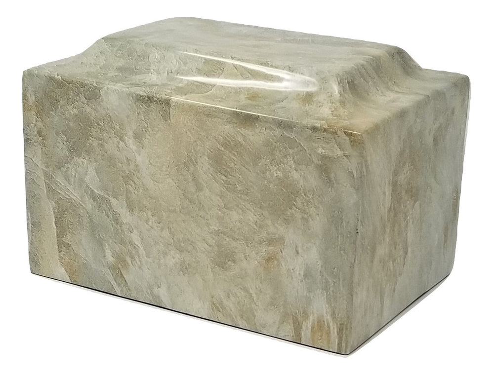 Cappuccino Faux Marble Urn - IUFXM119